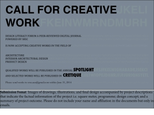 call for creative work 2014_new